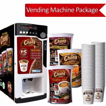 Harga Chong Coffee Vending Machine Business Package
