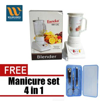 Eureka EEB-1.25L Juice Blender (White) with Free Manicure set 4 in 1 Price Philippines