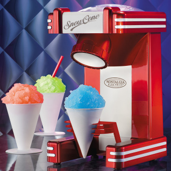Nostalgia RSM702 Retro Series Household Electric Single Snow Cone Maker Machine Ice Shaver Crusher - intl Price Philippines