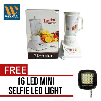 Eureka EEB-1.25L Juice Blender (White) with free 16 Led Mini Selfie Led Light (Color May Vary) Price Philippines