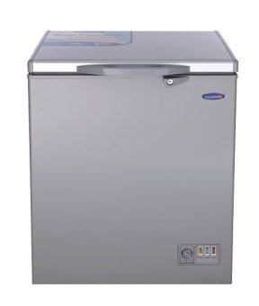 Harga Fujidenzo FCG-55 PDF SL Solid top Chest Freezer with Glass Cover 5.5 cu.ft. (Silver)