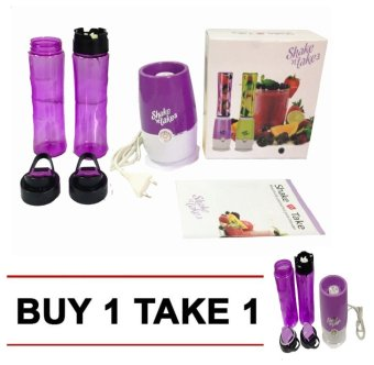 Harga Shake N Take 3 Double (Violet) BUY 1 TAKE 1