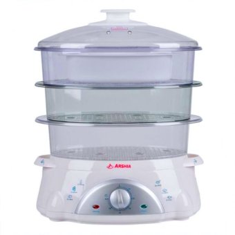 Arshia AS850-6013 Food Steamer 8.5L (White/Clear) Price Philippines