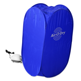 Harga Air O Dry Portable Clothes Dryer-(Blue)