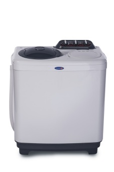 Harga Fujidenzo BWT-1010 Twin Tub Washer 10.1 kg. (Gray)