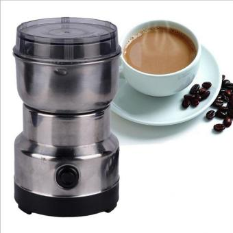 Electric Coffee Beans Grinder Coffee Maker Nuts Mill Stainless Steel Grinding Bean Nut Spice Herbs - intl Price Philippines