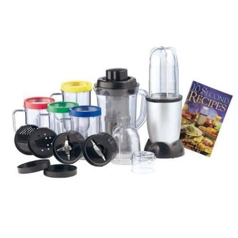 Harga Domotech High Speed Blender/Mixer Multifunctional Food Processor 21 Pieces Set