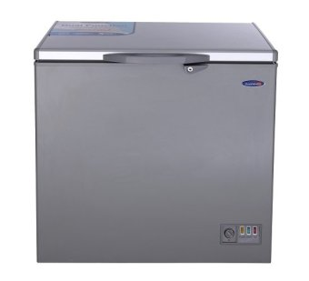Harga Fujidenzo FCG-70 PDF SL Solid top Chest Freezer with Glass Cover 7 cu.ft. (Silver)