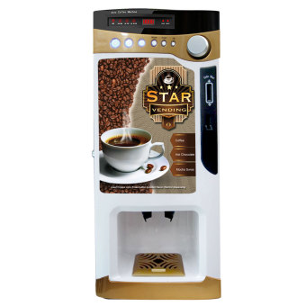 Harga Chong Café Star Vending Machine (Gold)