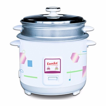 Eureka ERC-1.0L Rice Cooker with Steamer (5 Cups) (White) Price Philippines