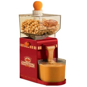 Nostalgia Electrics Electric Homemade Peanut Butter Machine (Red) Price Philippines