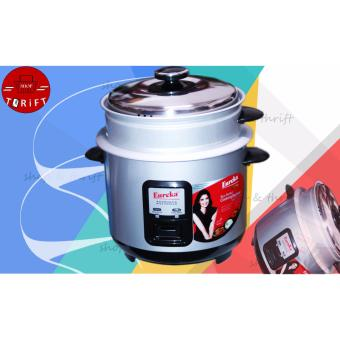 Eureka ERC-1.8 SB Rice Cooker With Steamer (silver) Price Philippines