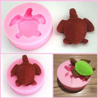 Harga Makiyo Turtle cake mold for cake and chocolate silicone - intl