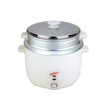 ASIAGO 1L Rice Cooker with Steamer (White) Price Philippines
