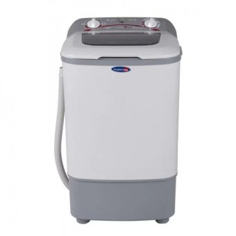Harga Fujidenzo JWS-680 Single Tub Washing Machine 6.8kg (White/Grey)