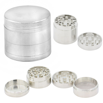 Bluelans Alloy Tobacco Grinder (Silver) Price Philippines