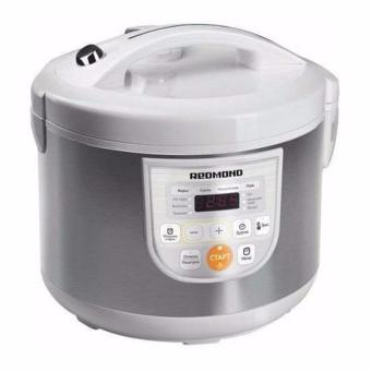 Harga Redmond 6L 900W Digital LED Controls & Display/Multiple Cooking Options / Keep Warm Function Multicooker RMC-M166 (White)