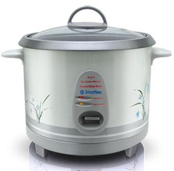 Imarflex IRC-18R 4 in 1 Rice Cooker 1.8L 10 Cups