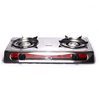 Kyowa KW-3500 Double Burner Gas Stove (Silver)