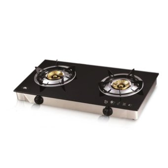 Kyowa KW-3560 2-Burner Gas Stove (Black)