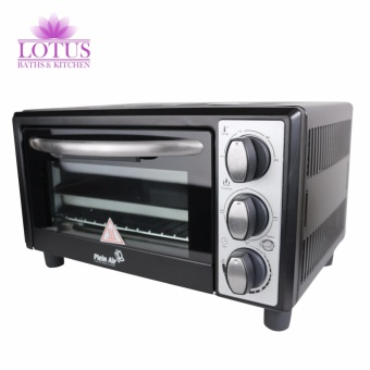 Lotus Plein Air FE-14 High Grade Italian Electric Oven withGrid Drip and Crumb Tray (Black)