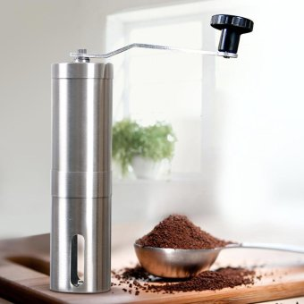 Makiyo Portable stainless steel manual handle coffee grinder - intl Price Philippines