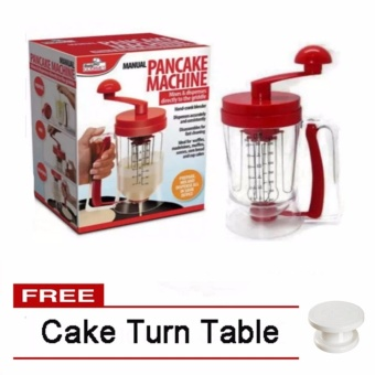 Manual Pancake Machine Free Cake Turn Table