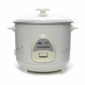 Marubishi MRC 204 Mini Rice Cookerwith Glass cover (White)