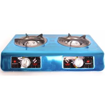 Micromatic MGS-600 Double Burner Gas Stove (Stainless)