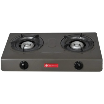 Micromatic MGS-650 Double Burner Gas Stove (Grey)