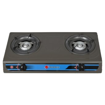 Micromatic MGS222 2 Burner Gas Stove (Grey)