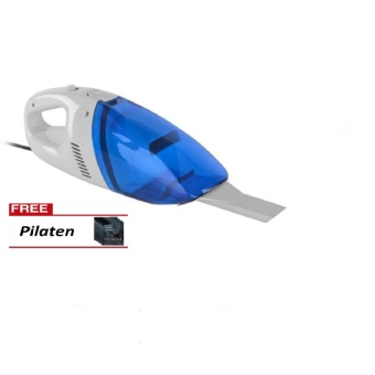 Portable Car Vacuum Cleaner (Blue) with FREE Pilaten