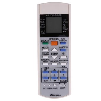 Remote Control for Panasonic Air Conditioner a75c3208 a75c3706a75c3708(White) intl - intl