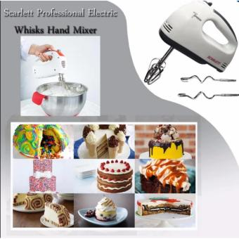 Scarlett Professional Electric Whisks Hand Mixer (White) Price Philippines