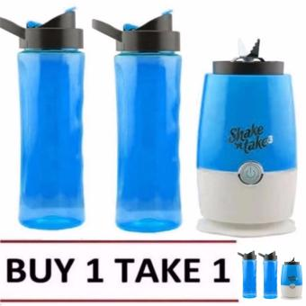 Shake n Take 3 Tumbler & Blender (Blue) BUY 1 TAKE 1