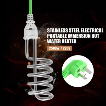 Stainless Steel Electric Portable Immersion Heater Boiler Water Heating Element - intl