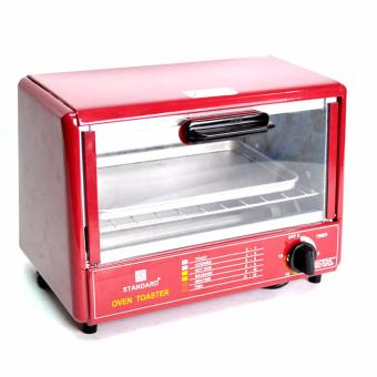 Standard SOT 602 Wide Oven Toaster (Red/ Black) Price Philippines