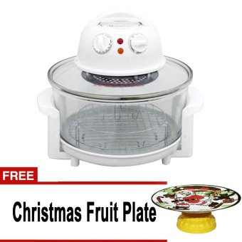 Standard STB991A Turbo Broiler (White) with free Christmas Fruit Tray