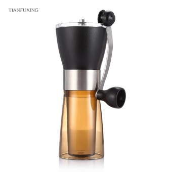 Tianfuxing Manual Coffee Grinder Portable Hand Grinding Machine (Coffee And Black) - intl