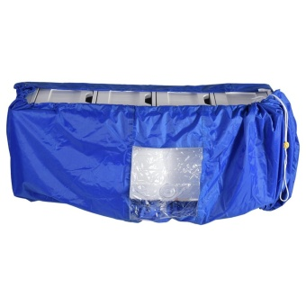 TMISHION Air Conditioner Cleaning Dust Washing Cover WaterproofProtector (Blue Color L) - intl
