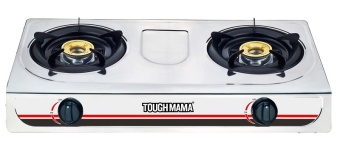 Tough Mama 2-Burner Stainless Steel Gas Stove