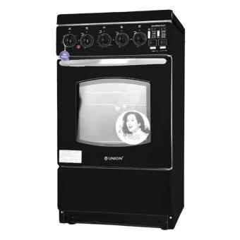 Union UGCR540 Gas Range (Black)