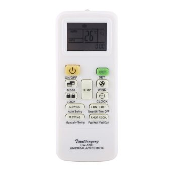 Universal Intelligent Air Conditioner Remote Control ReplacementLCD Screen - intl