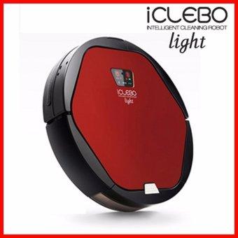 Yujin Korea iClebo Light YCR-M06-L2 Smart Robotic Vacuum Cleaner (Red) - intl ...