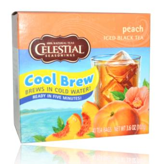 Celestial Seasonings Peach Iced Black Tea 40 Tea bags (102g)