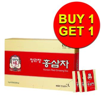 Cheong Kwan Jang (CKJ) Korean Red Ginseng Tea 3g x 100 packs / box