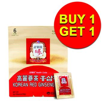 Cheong Kwan Jang (CKJ) Korean Red Ginseng Tea 3g x 50 packs / box