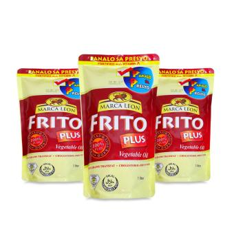 Frito Cooking Oil 1 Liter 551319 3's