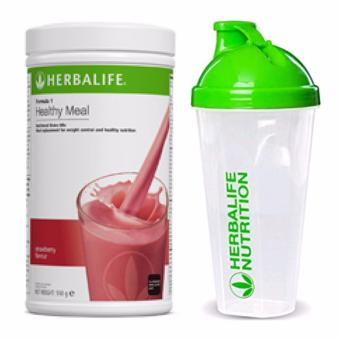 Herbalife Nutritional Shake Wild Berry 550g Canister w/ Shaker Cup