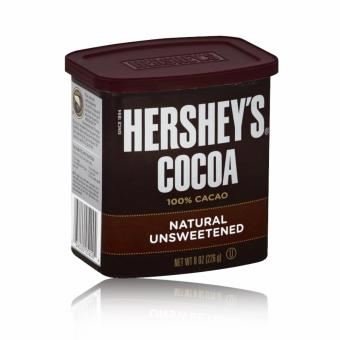 Hershey's Cocoa 100% Cacao 226g (Natural Unsweetened) with Free Arm& Hammer Fridge-N-Freezer Baking Soda 14oz (396.8g)